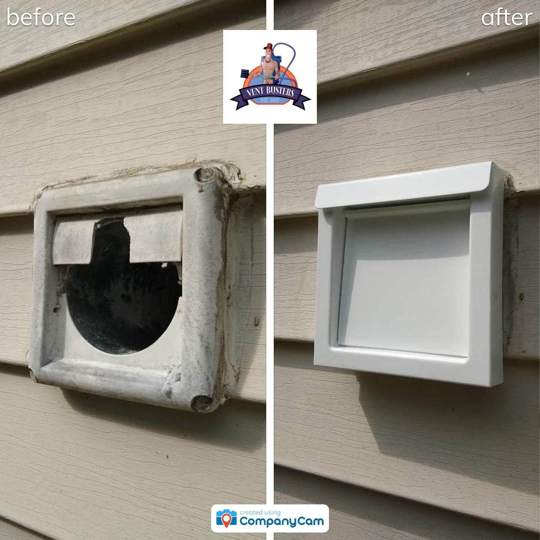 dryer vent cap replacement greensboro 2