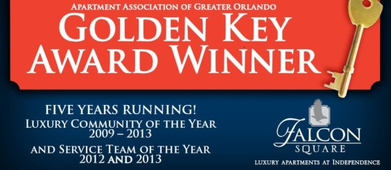 Falcon Square-Golden Key Award