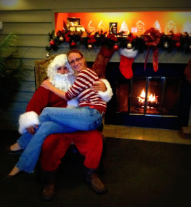 Santa Visit's Raintree