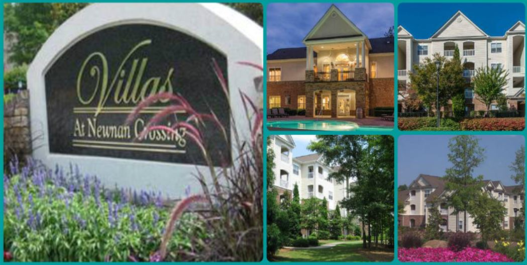 Venterra Acquires Villas at Newnan Crossing Apartments in Newnan, Georgia!