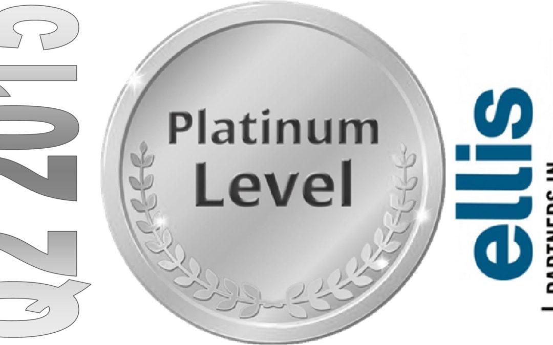 We're on a Platinum Streak!