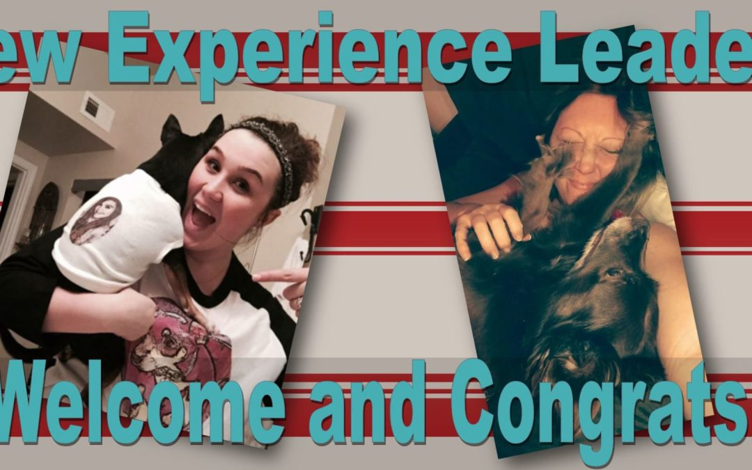 Meet Our Newest Experience Leaders!