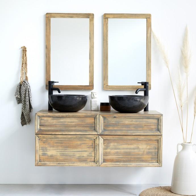meuble de salle de bain suspendu 120