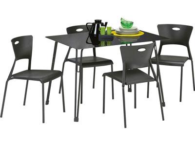 Table Conforama Promo Ensemble Table 4 Chaises Lea Prix 79 Euros Conforama Fr Bonnes Affaires Bons Plans Ventes Pas Cher Com