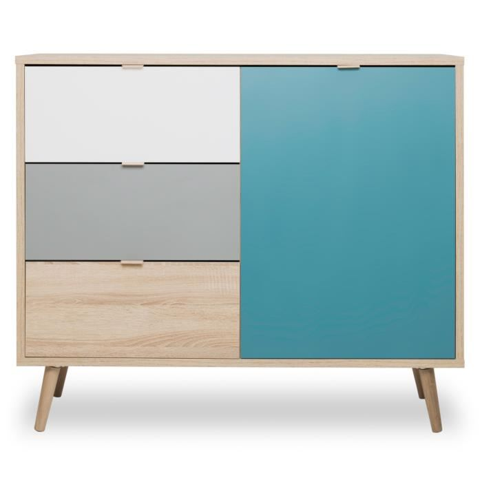 cuba meuble de rangement scandinave pas