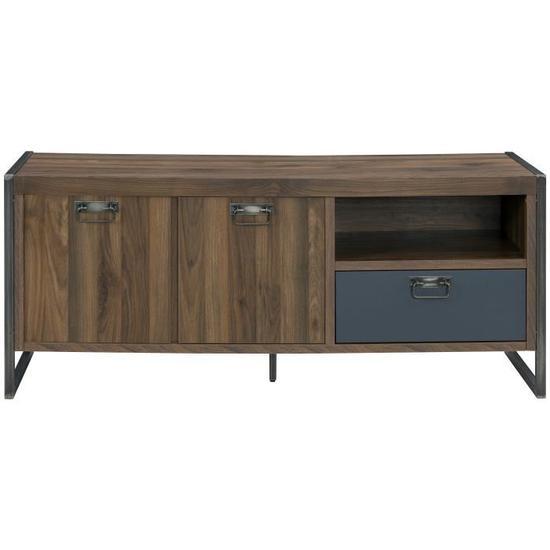 indus chic meuble tv industriel pas