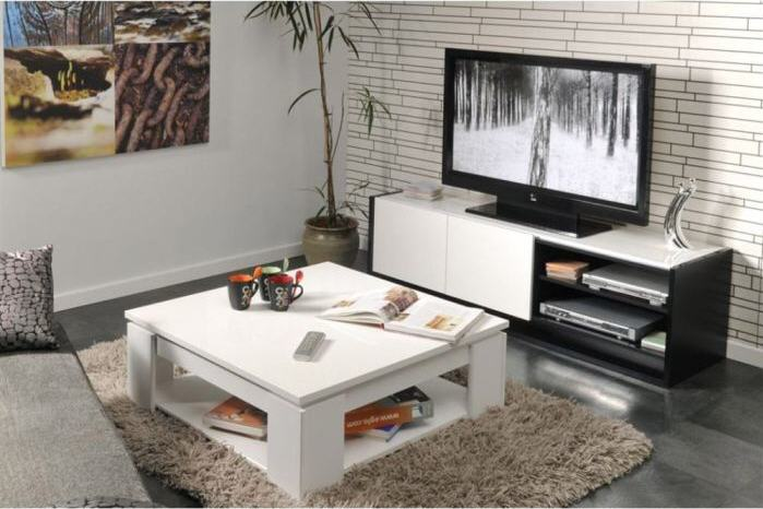 table basse cdiscount pas cher street