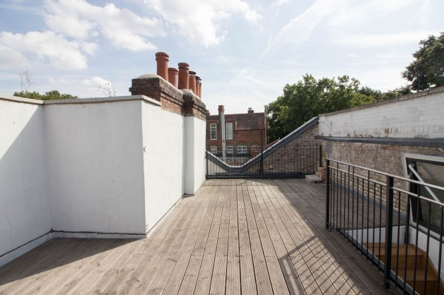 Private Rooftop Terrace at VENTH Studios London
