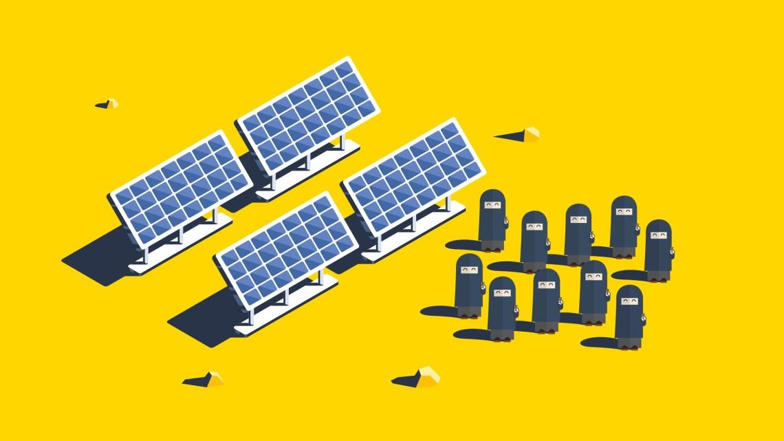 Il villaggio fa il pieno di energia (solare) grazie a dieci grandi lavoratrici