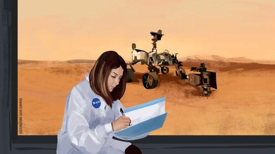 """""""Ragazze, potete fare tutto"""": parola di Diana Trujillo, che è arrivata fino a… Marte!"""