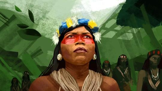 In mezzo alla foresta amazzonica, c'è una donna che lotta per noi