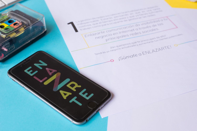 Identidad Corporativa para Enlazarte Comunicación