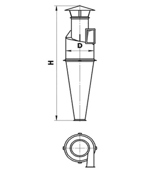 Циклон Ц-1600