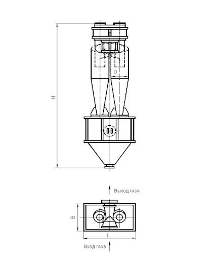 ЦН-15-800-2УП Циклон