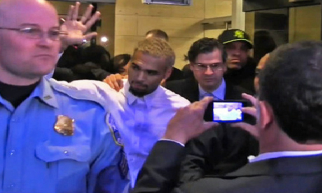 chris-brown-leaving-police-custody-jail-w-hotel-fight-arrested-washington-dc