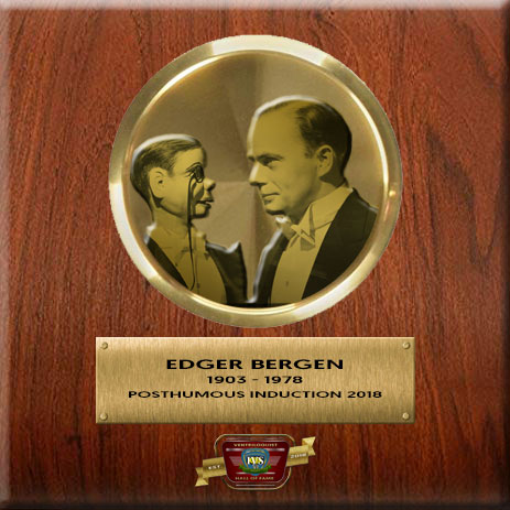 Ventriloquist Hall Of Fame - Edgar Bergen