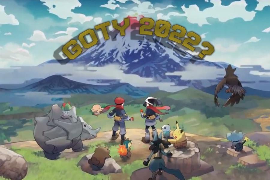 Pokemon Legends chegará forte em 2022