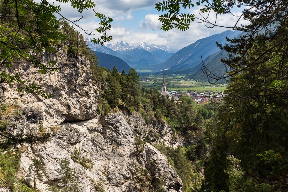 randonnée imst gorge