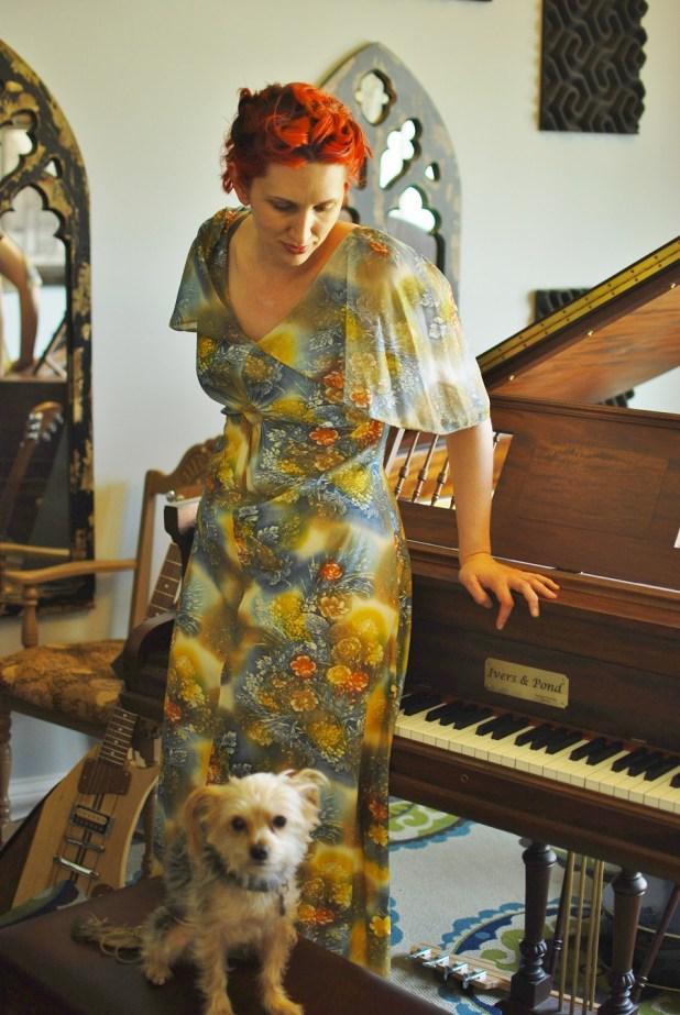 SarahPiano&Dog PhotobyTraceyMack