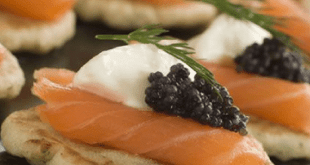 Red Caviar Appetizer Recipes