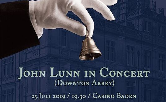 THE MUSIC OF JOHN LUNN CONCERT TO TAKE PLACE ON JULY 25TH AS PART OF HOLLYWOOD MUSIC WORKSHOP IN AUSTRIA