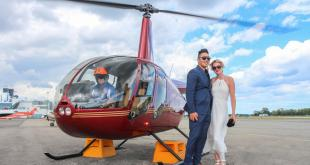 Why hire a helicopter ride to celebrate a special day with a special someone?