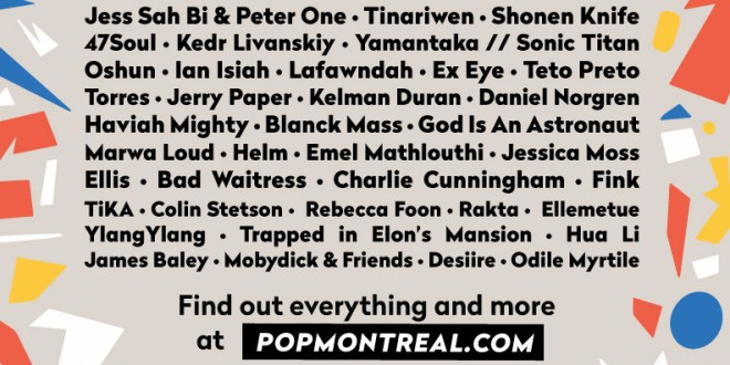 POP Montreal Announces 2019 Programming