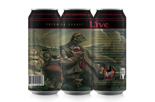 """+LIVE+ Announce Their First Craft Beer """"Throwing Copper Ale"""""""