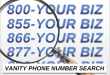 The Significance of the Call System with a Vanity Phone Number