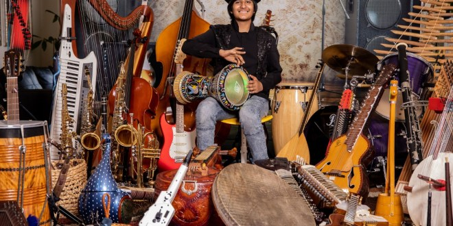 107 music instruments and counting; meet the world greatest instrumentalist- Neil Nayyar