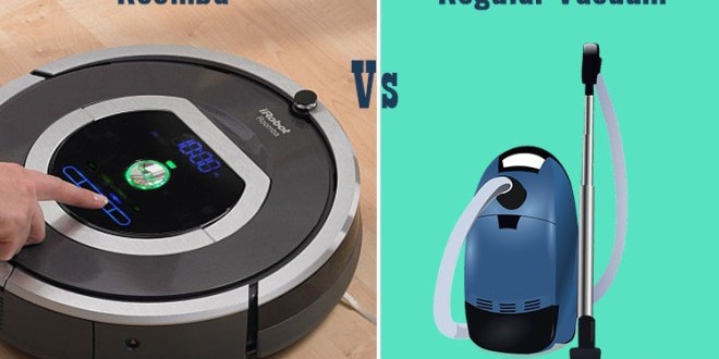Robotic Vacuum vs Regular Vacuum Comparison Review