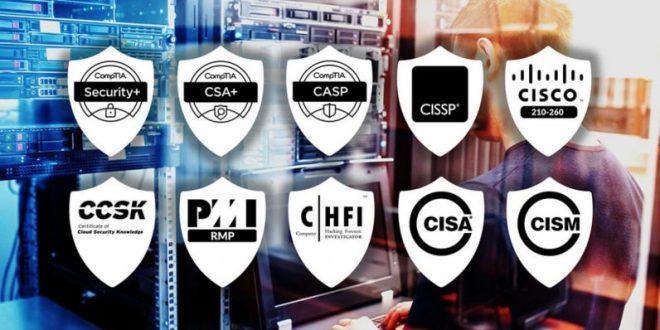 Top ten security certifications to get in 2020