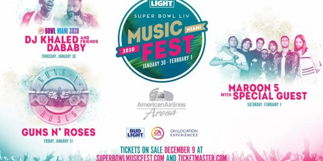 BUD LIGHT SUPER BOWL MUSIC FEST RETURNS WITH THE BIGGEST NAMES IN MUSIC