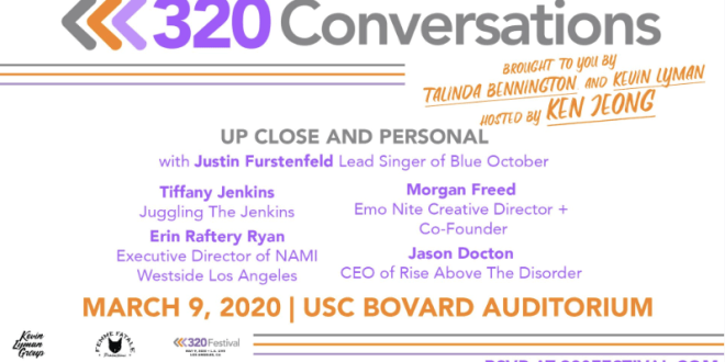 TALINDA BENNINGTON AND KEVIN LYMAN ANNOUNCE 320 CONVERSATIONS