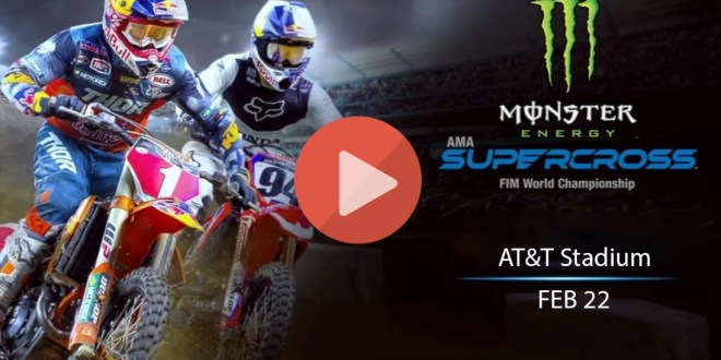 Arlington Supercross Live Stream – How to Watch AMA Supercross 2020 Online Round 8