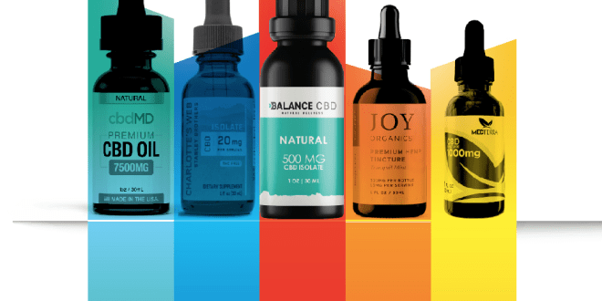 10 Best CBD Oils on the Market Right Now