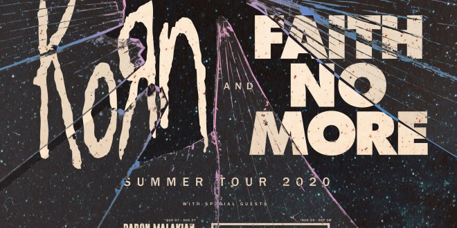 Faith No More And Korn Announce Co-Headline North American Summer Tour