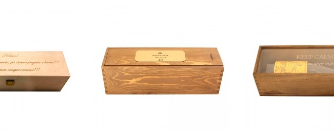 Personalized wine boxes, originality in step with quality