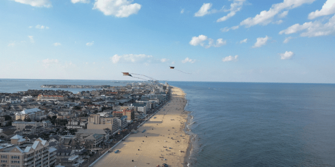 The Western Cal City to the Eastern Family Beaches of Ocean City