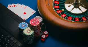 casino table in close up view