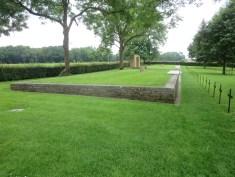 Mass graves at Fricourt German Cemetery