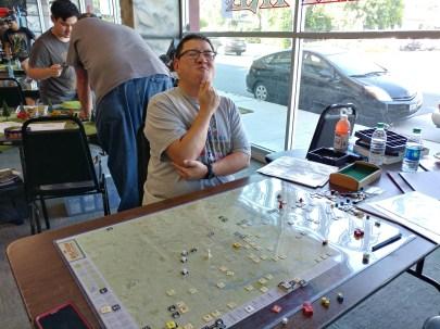 My opponent Ken Tee