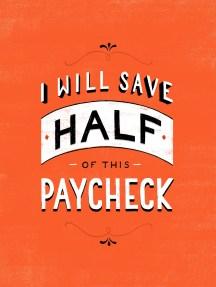 Eu vou economizar metade do pagamento