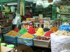 Bustling Vietnamese market