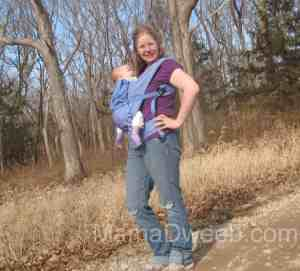 Mommy & Me Monday ~ A Walk In the Ergo