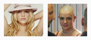 Before & After: Extreme Celebrity Hair Cuts