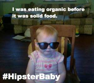 I made a funny #Hipsterbaby picture about #breastfeeding