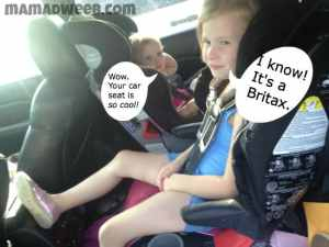Child Passenger Safety Week – 5 year old in Britax Frontier 85 #CPSWeek