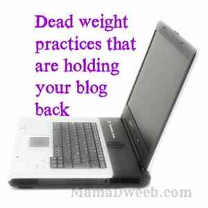 20 Practices that are holding your blog back