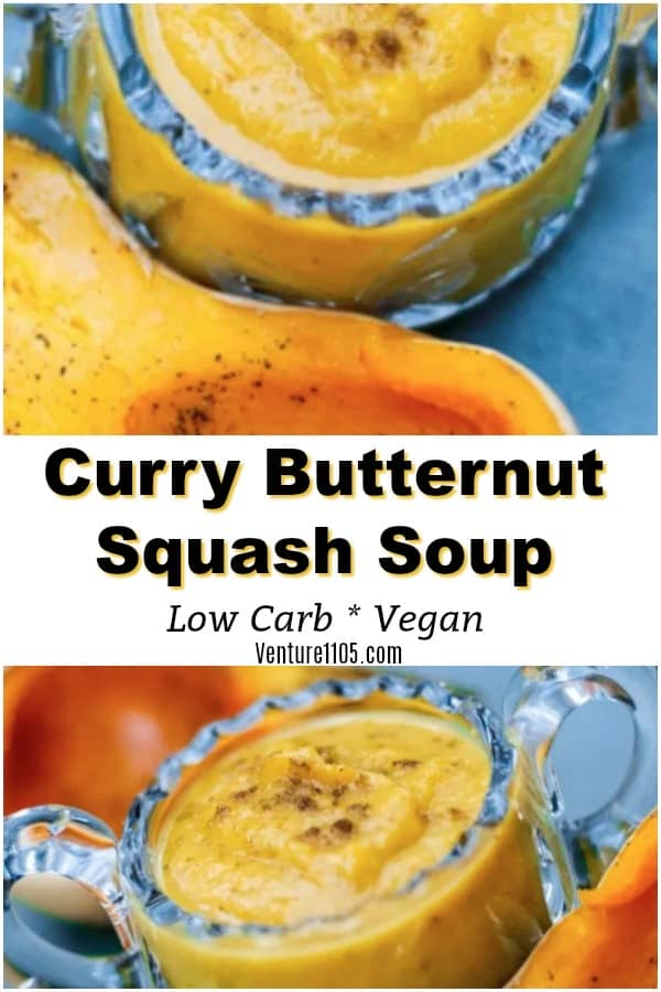 Butternut Squash Soup with Curry